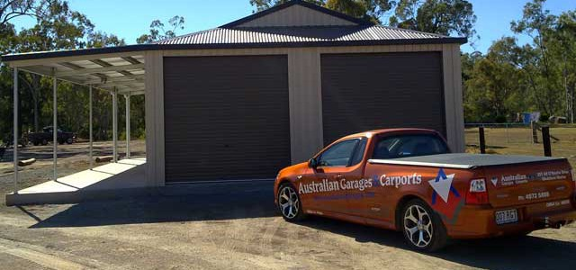 AT AUSTRALIAN GARAGES & CARPORTS
