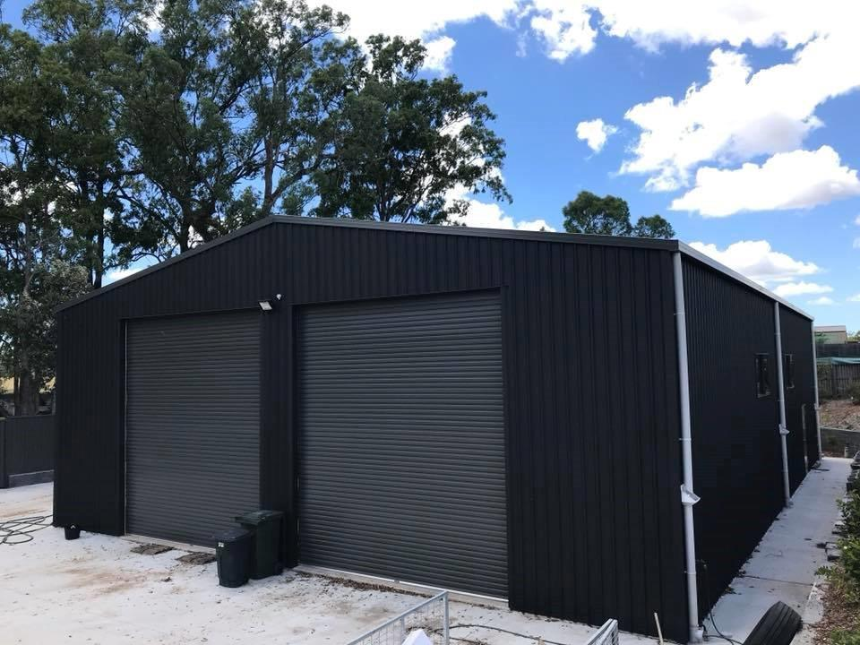 BTS Industrial Shed 20m long x 14m wide x 5m high