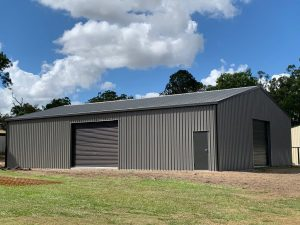 BTS Garage 18m long x 12m wide x 3.6 high