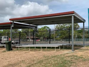 Cover at Regents Park State School Gutters - Manor Red rhs posts 90x90
