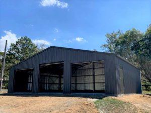 BTS Garage - 9m long x 12m wide x 2.7 high